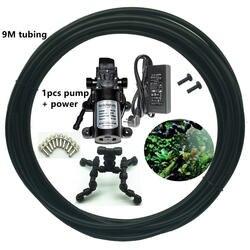 C165 мини-спрей 4 глава атомизации охлаждающие брызги насадка для экологической rain forest бак озеленение восхождение pet коробка для разведения