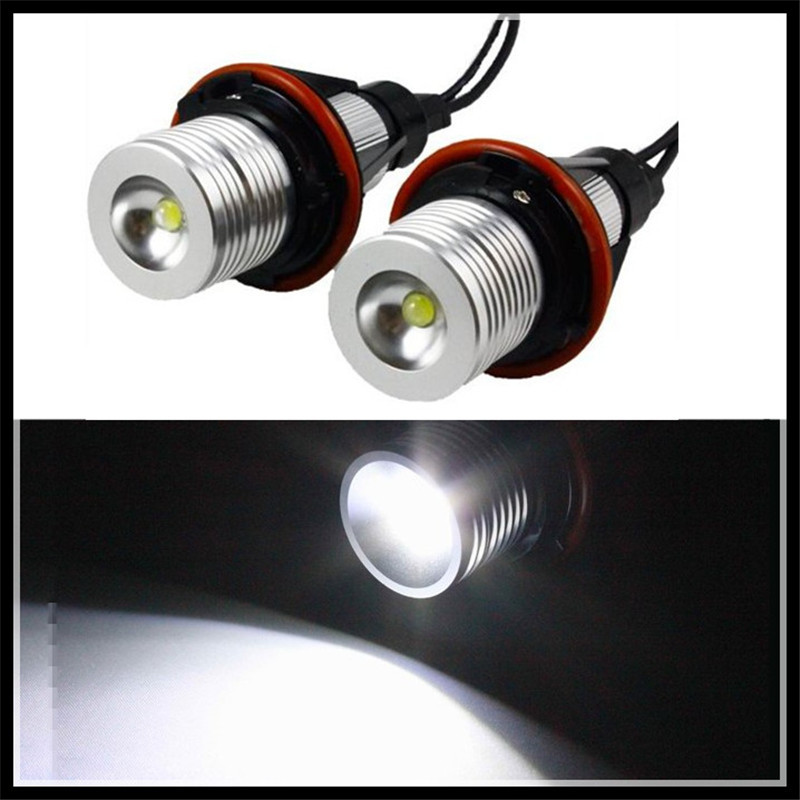 xenon white led angel eyes halo light bulb no error headlight for bmw e39 e83 x3 06-10 e53 x5 04-06 car led marker angel eyes fsylx error free white led number license plate lights for bmw e53 x5 12v led number license plate lights for bmw e39 z8 e52
