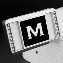 High Quality Hot sale black belts mens M letter fashion genuine leather designer Waist Strap popular off white ceinture homme