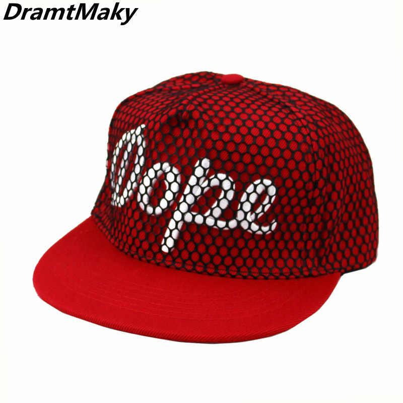 Letter Dope Baseball Cap Men Women Snapback Cap Hat Female Male Hip Hop  Bone Cap Black a9fb6831aa79