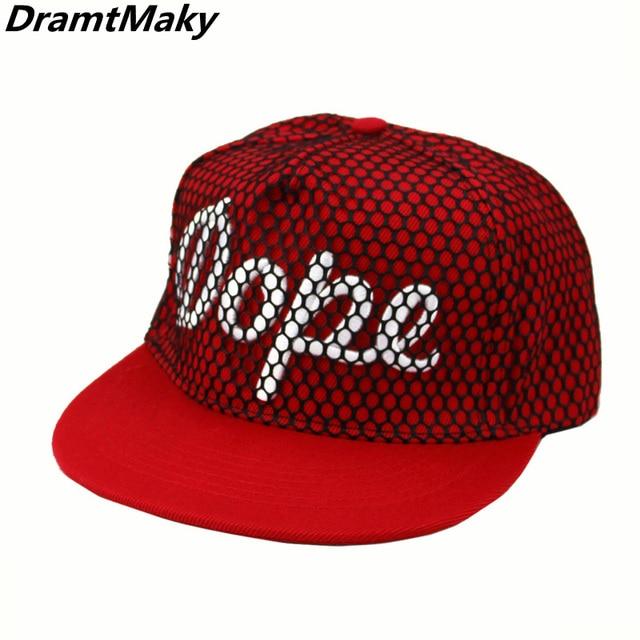 ea37dcda878 Letter Dope Baseball Cap Men Women Snapback Cap Hat Female Male Hip Hop  Bone Cap Black