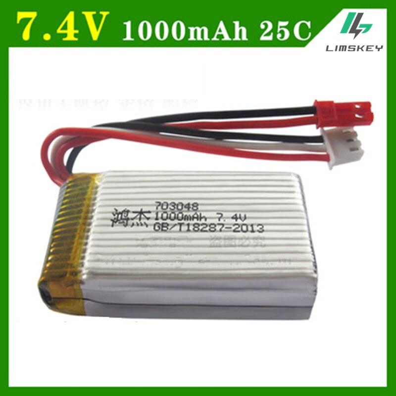 7.4V 1000mah  Battery For MJXRC Battery Lipo 7.4 V 1000 mah 703048 toy battery7.4V 1000mah  Battery For MJXRC Battery Lipo 7.4 V 1000 mah 703048 toy battery