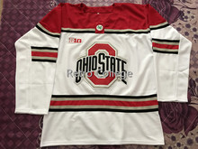 5a0a38fd1 Ohio State Buckeyes MEN S Ice Hockey Jersey Embroidery Stitched Customize  any number and name