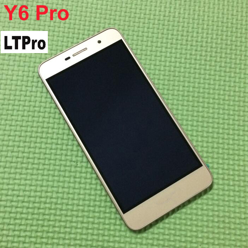 LTPro <font><b>LCD</b></font> Display Touch Screen Digitizer Assembly with Frame For <font><b>Huawei</b></font> <font><b>Y6</b></font> <font><b>Pro</b></font> <font><b>TIT</b></font>-U02 Y6Pro <font><b>TIT</b></font>-<font><b>AL00</b></font> Phone parts Replacement image