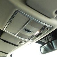 For Range Rover Evoque For Land rover Discovery Sport Car Styling Front Roof Reading Light Decorative Frame Trim Accessories