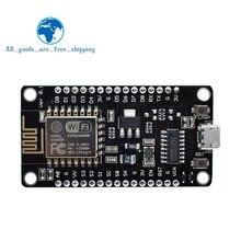 Беспроводной модуль NodeMcu v3 CH340 Lua wifi Интернет вещей макетная плата ESP8266 с pcb антенной и usb портом для Arduino
