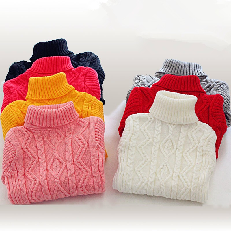 2016-winter-Hot-Sale-Infant-Baby-Boys-Girls-Children-Kids-Knitted-Autumn-Pullovers-Turtleneck-Warm-Outerwear (1)