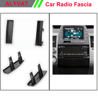 Free Shipping 11 595 Car Stereo Radio Fascia Plate Panel Frame Kit For TOYOTA Prius 2003 2009 car radio fascia installation kit