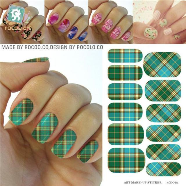 Water Transfer Nail Art Sticker Minx Full Cover Manicure Styling