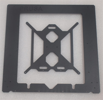 Reprap Prusa i3 MK2 Clone aluminum frame kit 6mm thickness black color CNC designed by Josef Prusa