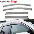 4pcs/lot Window Visors For Ford Edge 2016 Sun Rain Shield Stickers Covers Car - Styling Awnings Shelters Man Fashion Accessories