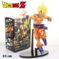 Dragon Ball Z Super Saiyan Goku 22 CM PVC Figura de acción Del Anime Juguetes Modelo