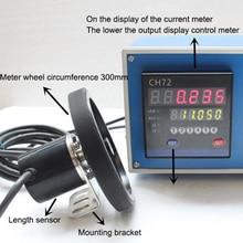 Электронный цифровой измеритель электронный кодовый датчик цифровой счетчик длины колесо измерителя длина рулона измерительный прибор испытательное оборудование