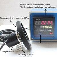 Codificador de Comprimento Digital Contador Do Medidor eletrônico Medidor Digital Eletrônico Rolo Roda Equipamento de Teste de Medidor De Medição do Comprimento|Machine Centre| |  -