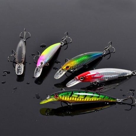 New Arrival Trulinoya 95mm/9g 4pcs/lot Fishing Lures 5 Colors Minnow Lure Crankbait Fish Bait Deep Diver Fishing Lure