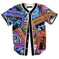 Cartoon Movie Men t shirt game player YU-GI-OH games t shirts short sleeve tees hip hop style streetwear Dota 2 cardigan shirt