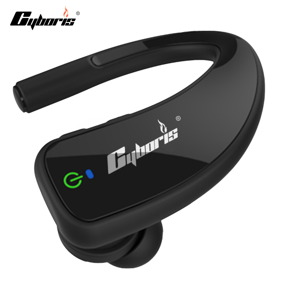 Original Cyboris Sports Wireless Bluetooth Earphones Stereo Earbuds Headset Bass Headphones with Mic In-Ear for iPhone 7 Samsung