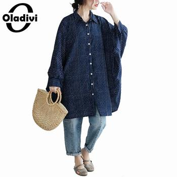 9d7963b3b5f0 Oladivi gran tamaño mujeres moda estampado 2019 verano Boho vestido talla  grande playa desgaste ...