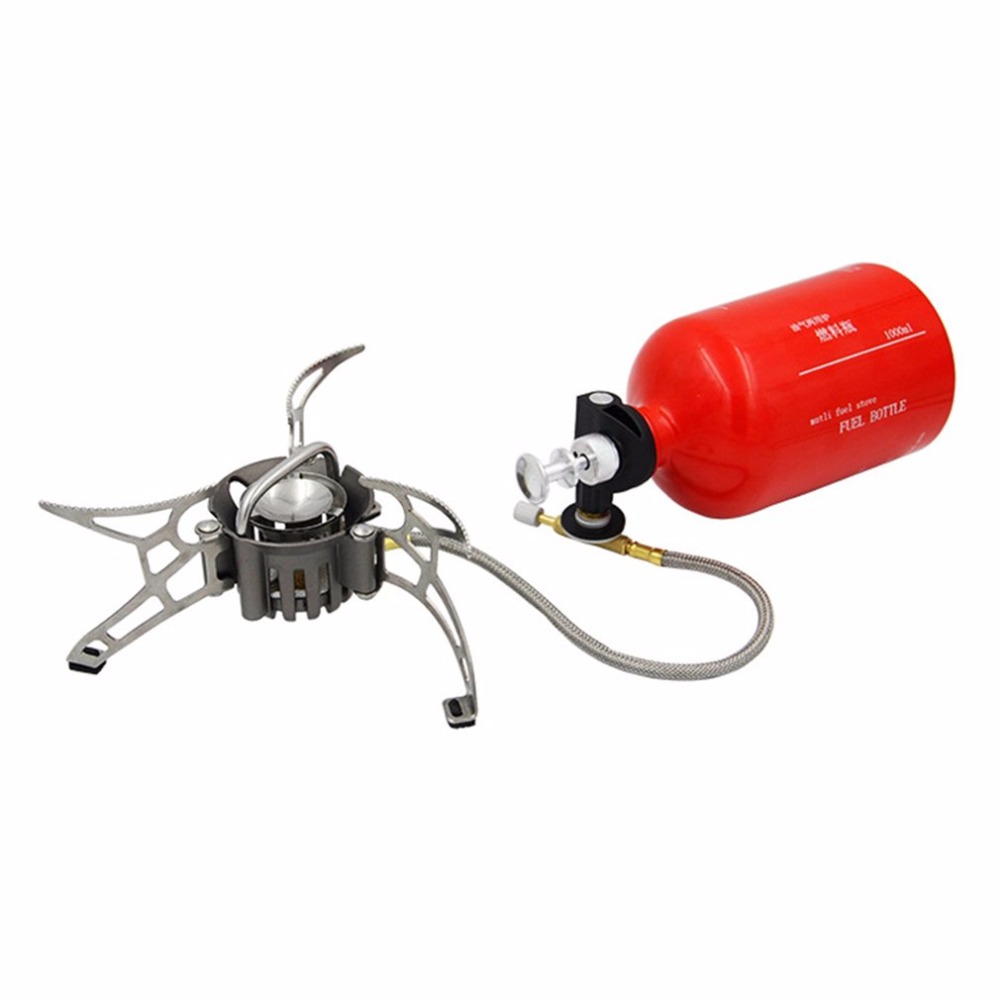 Portable Outdoor Camping Petrol Stove Burners 1000ML Gasoline Picnic Gas Stove Cooking Stove multifunctional portable outdoor camping petrol stove burners 1000ml gasoline picnic gas stove cooking stove wholesale