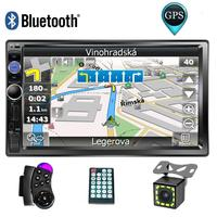 7 Touch Screen Car Multimedia Player 2 Din Car Radio GPS Navigation Autoradio Bluetooth USB AUX Auto Stereo Car DVD MP5 Player