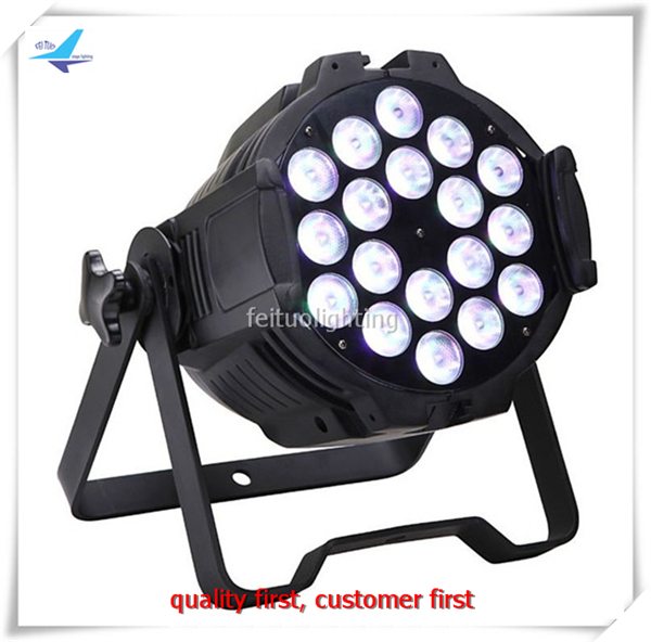Free shipping 16 pieces stage lighting par led 18x10w rgbw 4in1 luzes para festa free shipping 16 lot dmx 18x10w rgbw led par can light for stage decoration