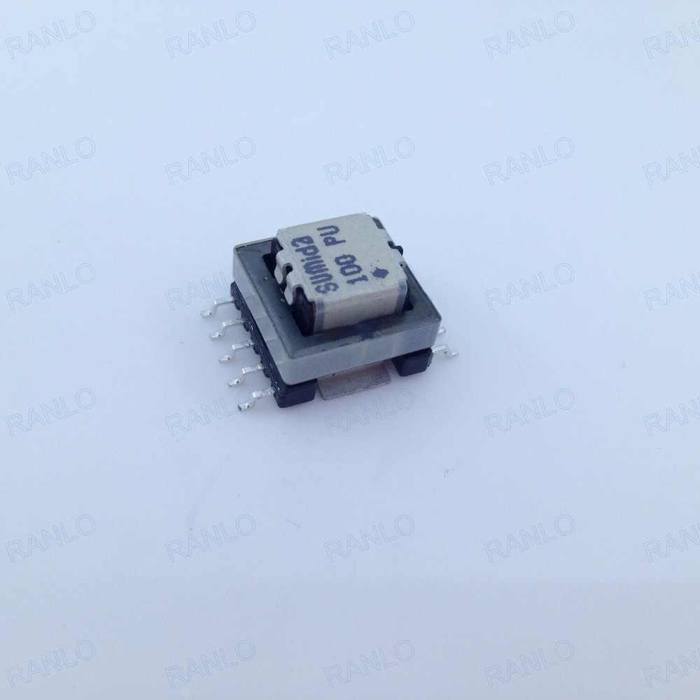 CEEH1310C SMD high frequency transformer with clip, turns