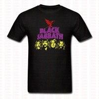 Fashion Heavy Metal Black Sabbath T Shirt Punk Men Women Brand Clothing O Neck Short Sleeve