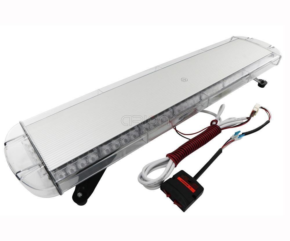 "21/"" Light Bar 56W LED Emergency Beacon Strobe Tow//Plow Truck Wrecker Roof Amber"