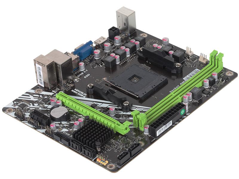 Carte mère d'origine MAXSUN ms-earth shaker A320M-VH AMD mATX double canal DDR4 Gigabit LAN 4 x SATAIII USB3.1 VGA HDMI - 5