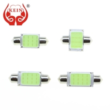 KEIN 1PCS festoon led 31MM 36MM 39MM 41MM COB C3W C5W C10W Interior/reading/Dome/License Plate Lamp Bulb Lights Auto car led 12V