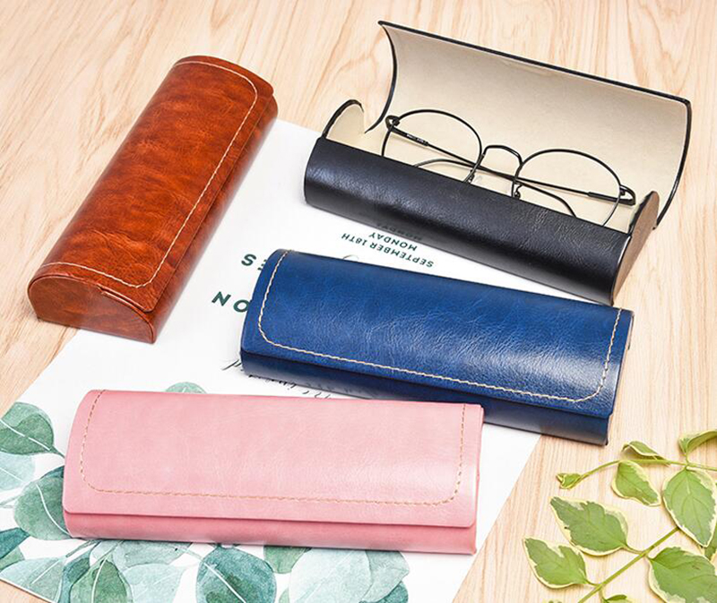 Men's Glasses Steady 6 Colors Available Spectacle Cases 1 Pc Protable Light Triangular Fold Glasses Case Eyeglass Sunglasses Protector Hard Box Soft And Antislippery Apparel Accessories