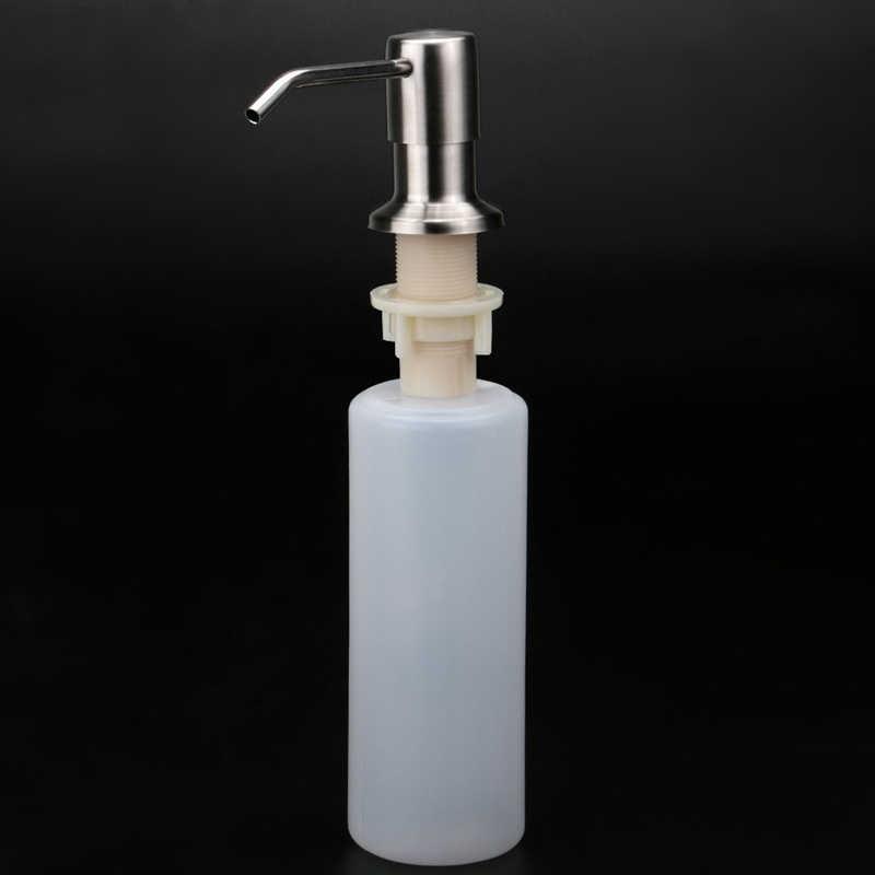 MOSEKO الحمام المطبخ موزع الصابون ل بالوعة المنظفات السائل غسل اليد مضخة توزيع صابون للمطبخ المقاوم للصدأ رئيس