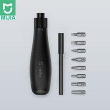 Mijia Wiha 8 en 1 Kit de tournevis multi fonction en acier embouts magnétiques avec tige dextension bricolage tournevis ensemble outils de réparation