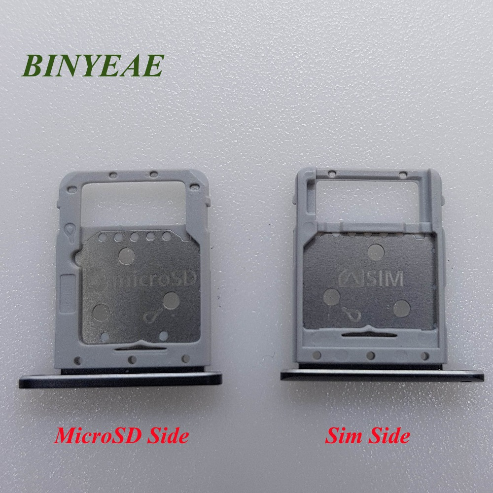 BINYEAE Tray Sim And SD For Samsung Galaxy Tab S4 10.5 T835  T830 T837 SIM+MircoSD Tray Slot Holder Replacement