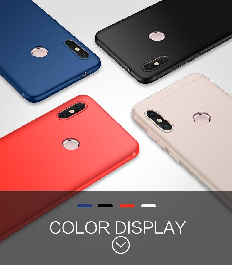 note 5 phone cases Silicone Case For Xiaomi Redmi Note 5 (7)
