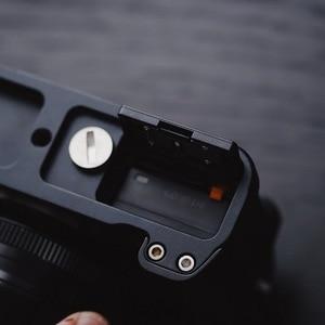 Image 5 - أسود Pro سريع إطلاق L لوحة/L نوع قوس ترايبود يصلح ل فوجي فيلم فوجي XT20 X T30 يد ماسِك للجوّال