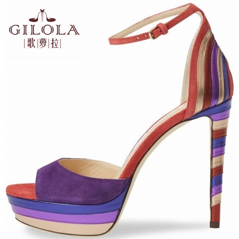 Fersen Gladiator Y0310673q Frauen Schuhe Frühling Schwarzes Sandalen Frau High purpurrot Sommer Cm Schwarz 12 Dünne Mode Heels z6EWX