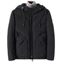 Brand winter Cotton Padded Jacket Hoodies Men Thick Parka Coat Male Quilted Winter 4XL DSWP-1840