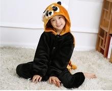 Boys and girls Halloween Kigurums Adult Onesie Raccoon Pajamas Coon Sleepsuit Cosplay Pyjamas Unisex Anime Sleepwear Costume