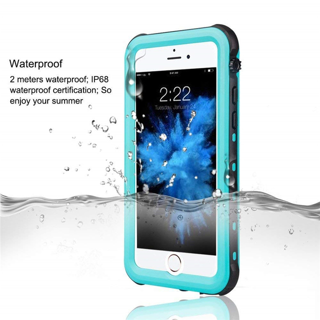 sports shoes 589fe 78fdd US $8.27 35% OFF|For iPhone 5s Waterproof Case 100% Sealed Water Proof  Underwater Cases for iphone 5c Diving Swim Protective Cover for iphone  SE-in ...