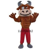 Muscle Bull Mascot Suit Make Adult Bull costumes