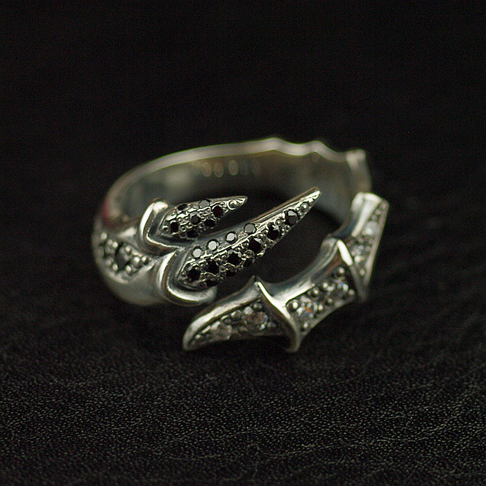 Thai imported 925 Sterling Silver jewelry rings Thai silver open ringThai imported 925 Sterling Silver jewelry rings Thai silver open ring