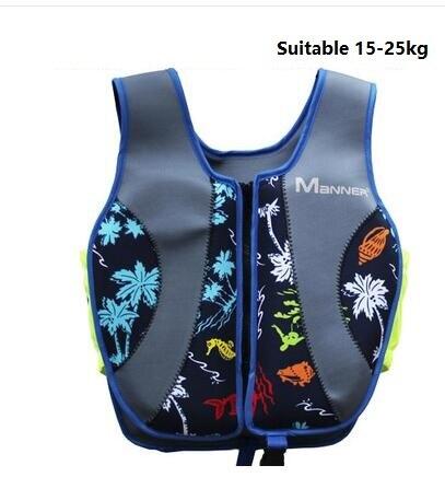 Дети спасательный жилет, профессиональная Спасательная куртка для детей, для серфинга, для плавания, для мальчиков и девочек, жилет для плавания - Цвет: Синий