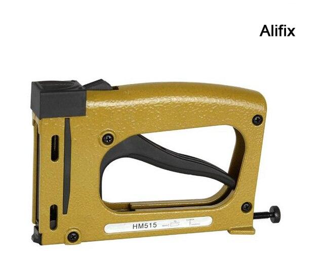 Manual stapler manual nailer HM515 FRAME TACKER with 1000pcs staples ...