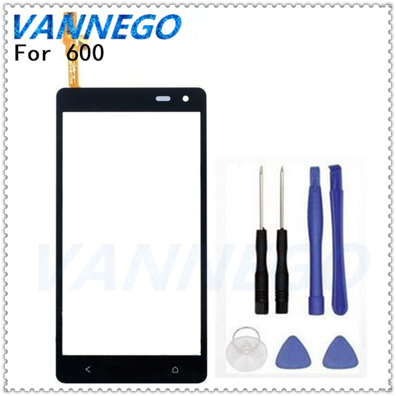For HTC Desire 600 600C 606W 609D 608T Dual Sim Touch Screen Panel Digitizer Glass Lens Sensor Panel Replacement