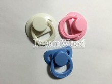 20pcs lot Magnet Pacifiers for Reborn Baby Doll Handmade DIY Pacifiers Nipples Magnetic Dummy Fit for