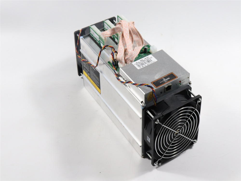 90%-95% New AntMiner S9j 14.5T Bitcoin BTC BCH Miner Better Than Antminer S9 S9i 13T 13.5T 14T T9+ WhatsMiner M3 From BITMAIN 2
