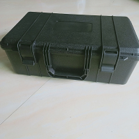 internal size 430*250*150mm PP plastic suitcase plastic tool box