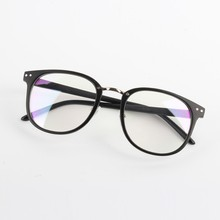 Fashion Unisex Optical Clear Lens Glasses Women Men Round Frame Eyewear Eyeglasses