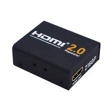 HD 2160P 3D 4K HDMI 2.0 Splitter Repeater Extender Booster Amplifier HDTV Metal Case